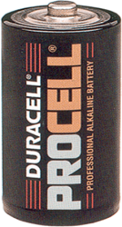 Alkaline Batteries Size C 10489U