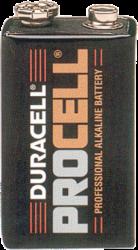 Alkaline Batteries 9 Volt 10491U