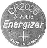 Remote Batteries 3 Volt 4386M
