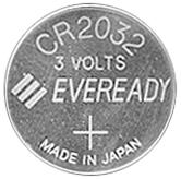 Remote Batteries 3 Volt 4390M